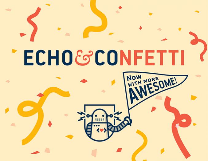 Echo&Confetti Snapshot