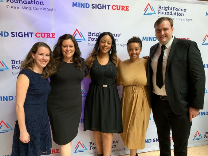 Echo&Co DC team at the BrightFocus MindSightCure Gala
