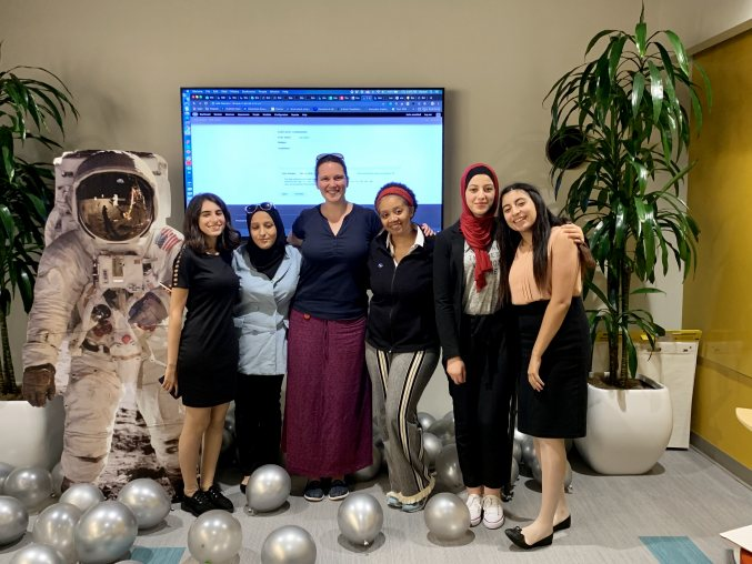 2019 TechGirls at Echo&Co