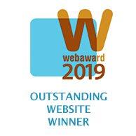 2019 WebAwards for Outstanding Website